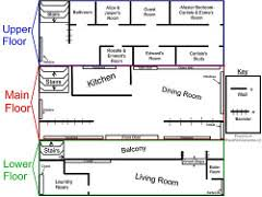The Cullen House Floor Plan  House And Home DesignCullen House Floor Plan