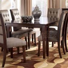cool ashley dining room table and chairs larimer extendable signature design furniture set tables