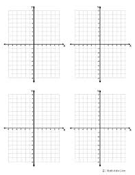 Graphing Paper With X And Y Axis Reflection Worksheets Virtual Graph