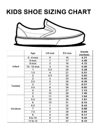 Image Result For Gap Kids Shoe Size Chart Shoe Size Chart