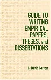 com guide to writing empirical papers theses and  guide to writing empirical papers theses and dissertations 0th edition