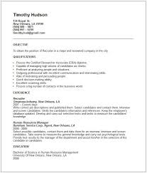 etc see how to write your in this nurse recruiter resume