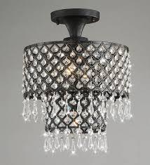 bronze crystal chandelier