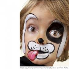 5 easy face painting designs for kids paing