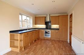 kitchen cabinets traditional light wood open shelves floor l