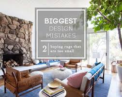 rug under coffee table. biggest design mistakes_buying rugs that are too small_roundup_emily henderson_expert advice rug under coffee table q