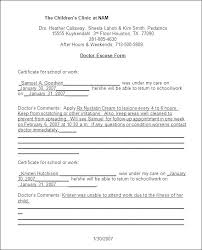 Kaiser Fake Doctors Note Doctors Note For School Template Fake Pdf Free Templates O
