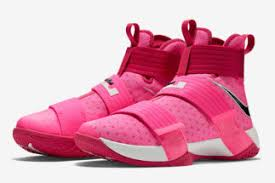 lebron soldier xi. the nike lebron soldier 10 is wasting no time in introducing new colorways to its release slate, as familiarly vibrant \u201cthink pink\u201d look arrives lebron xi