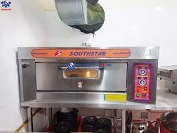 Lò nướng bánh ngọt 1 tầng 2 khay bằng gas YXY-20A tiện dụng giá rẻ