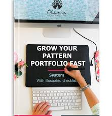how to grow your repeat pattern gallery super fast here is my free ilrated checklist