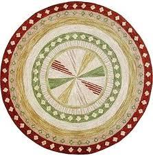 shaker pinwheel wool hooked rug rugs primitive hooking patterns