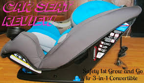 car seat review safety 1st grow and go air 3 in 1