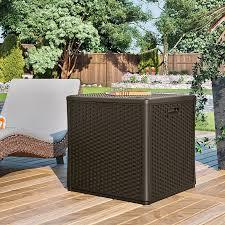 suncast deck box plastic garden