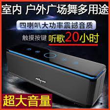 Loa siêu trầm nặng ngoài trời sạc âm thanh không dây Loa Apple Bluetooth âm  lượng lớn công suất cao siêu lớn