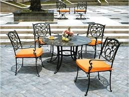 black wrought iron furniture. Small Wrought Iron Chair Patio Furniture Chairs Black Tables