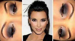 kim kardashian smokey eye makeup tutorial