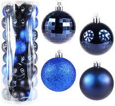 40 Stück Weihnachtskugeln Christbaumkugeln Christbaumschmuck