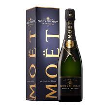 chagne moët chandon nectar impérial gift box 75cl wines and chagnes