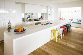 Decorations  Contemporary And Plush Modern White Kitchen Design - White modern kitchen