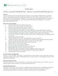 accounts receivables resumes resume accounts payable accounts receivable resume 2 clerk example