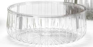 acrylic coffee table for with round zinc top beautiful round design