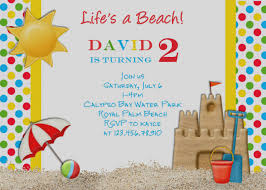 Tropical Party Invitations Latest Of Birthday Beach Party Invitations Gallery Theme Invi On
