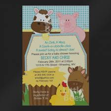 moo invitations inspirational of farm animal baby shower invitations free printable