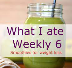 smoothies for weight loss case study