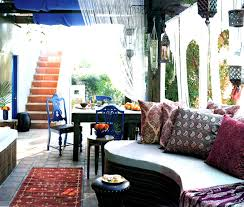 moroccan patio furniture. Moroccan Outdoor Furniture Sydney Elegant Patio I Cut Arches Into The String Curtains And Painted R