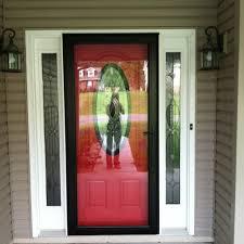 front screen doorStorm doors Red front doors and Front doors on Pinterest for Homes