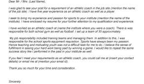 Head Basketball Coach Cover Letter Cover Letter For Basketball Coaching Position Head Basketball Coach