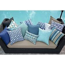 Navy Outdoor Pillow