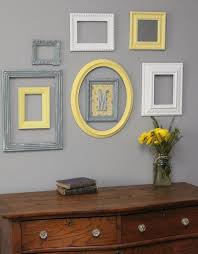 Yellow and grey furniture Shades Cream Grey And Yellow Frames On Light Grey Wall Rrbookdepot 29 Stylish Grey And Yellow Living Room Décor Ideas Digsdigs