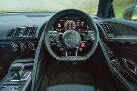 audi r8 spyder interior.  Audi Behind The Wheel Of Audi R8 V10 Plus To Spyder Interior