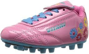 Vizari Size Chart Vizari Girls Blossom Fg Soccer Shoe Sneaker Pink Blue 8 5