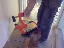 installing hardwood floors in hallways tight spots angles and doorways