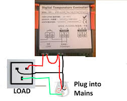 how to wire a ranco digital temperature controller within stc 1000 temp controller build at Temperature Controller Wiring Diagram