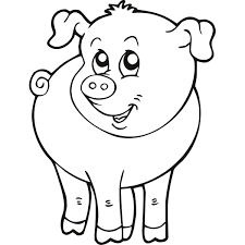 Small Picture Simple Farm Animal Coloring Pages PrintableFarmPrintable