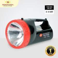 Đèn pin sạc tích điện xách tay Honjianda HJD-6688 - có chân đế sạc giá cạnh  tranh
