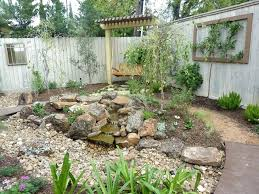 river rock garden bed amazing dry river bed garden as your landscaping  design river ...