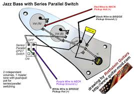 fender jazz bass wiring schematic ewiring jazz bass wiring diagram request volume dpdt tone talkbass com