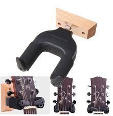electric guitar holder wall guitar wood