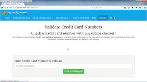 how to generate valid credit card details with security