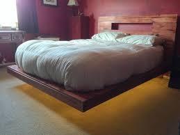 VIEW IN GALLERY DIY Floating bed design