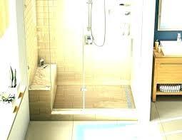 custom tile shower pans kits floor for pan building a diy sho