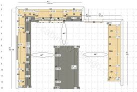 kitchen cabinets design drawings floor plan and elevations reviews