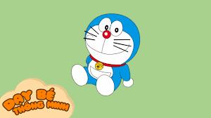 Bé tập vẽ tranh   Hướng dẫn học vẽ nhân vật hoạt hình doremon bằng bút