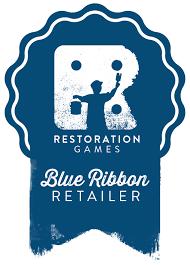 Blue Ribbon Design Retailers Restoration Games
