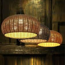lantern pendant lighting. D36/46CM Bamboo Rattan Lantern Pendant Lights Simple Japanese Living Room Restaurant Study Cafe Retro Lighting