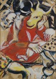 file marc chagall 1911 to my betrothed gouache watercolor metallic